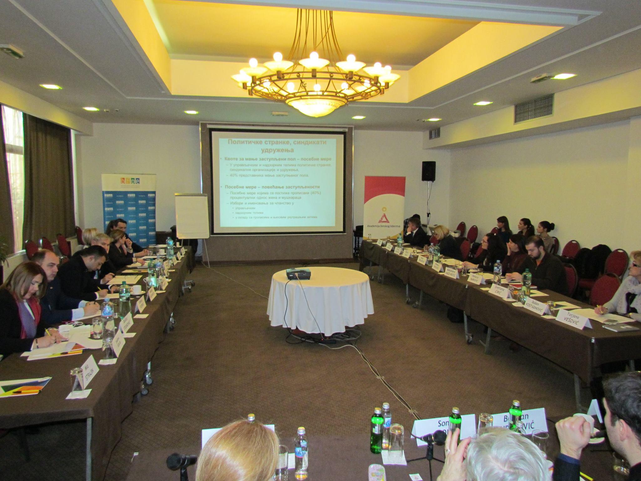 Održan drugi trening Akademije ženskog liderstva za funkcionerke i funkcionere partija