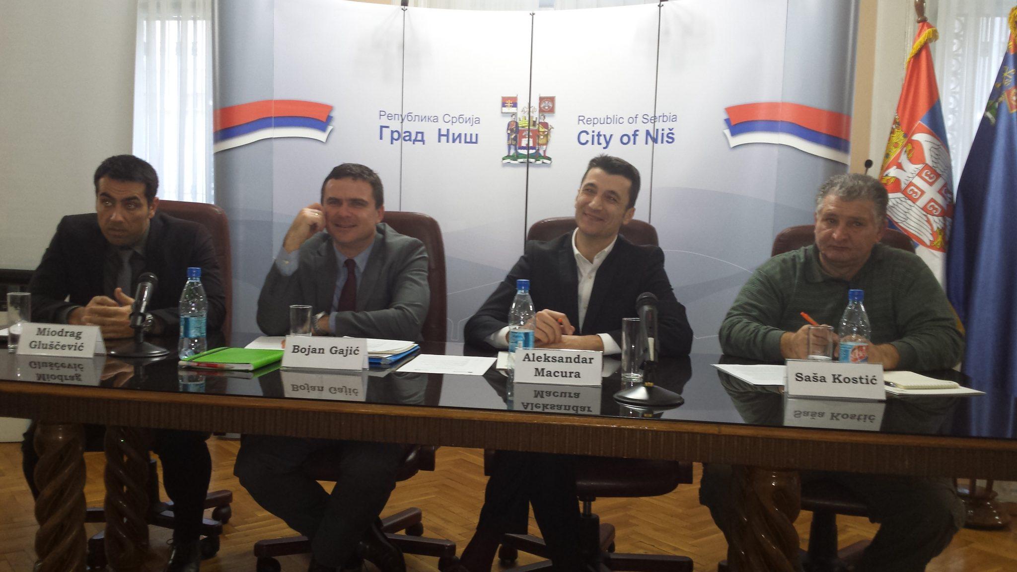 Četvrta sednica Nacionalnog konventa – radne grupe 15 (energetika) održana u Nišu