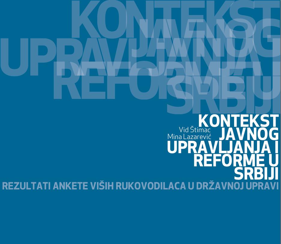 Kontekst javnog upravljanja i reforme u Srbiji: preuzmite izveštaj