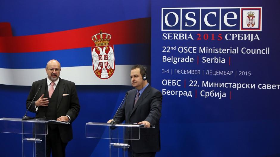 """Uz velike muke"": preliminarna ocena predsedavanja Srbije OEBS-om"