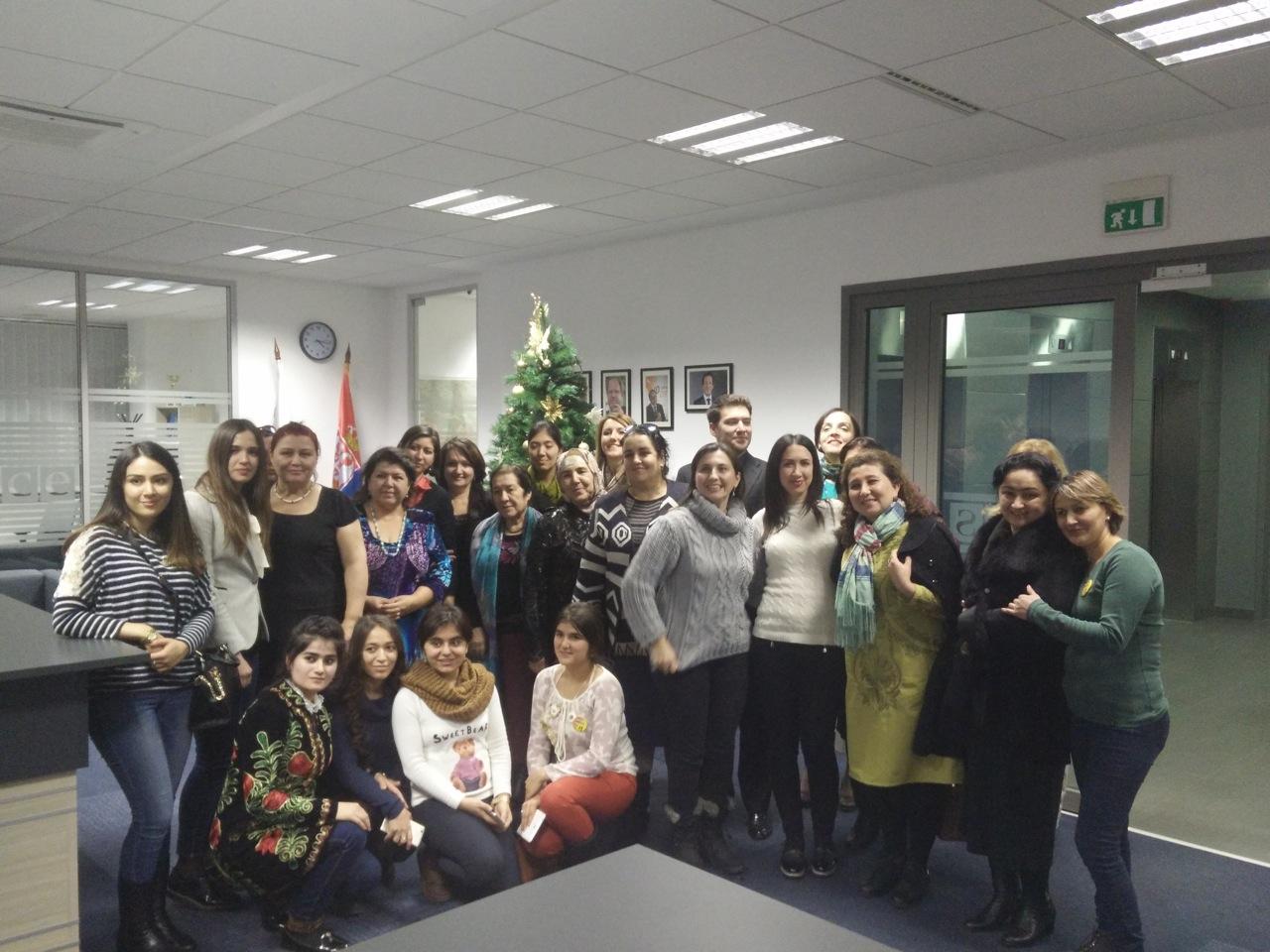 Prezentacija Akademije ženskog liderstva delegaciji političarki i aktivistkinja iz Tadžikistana