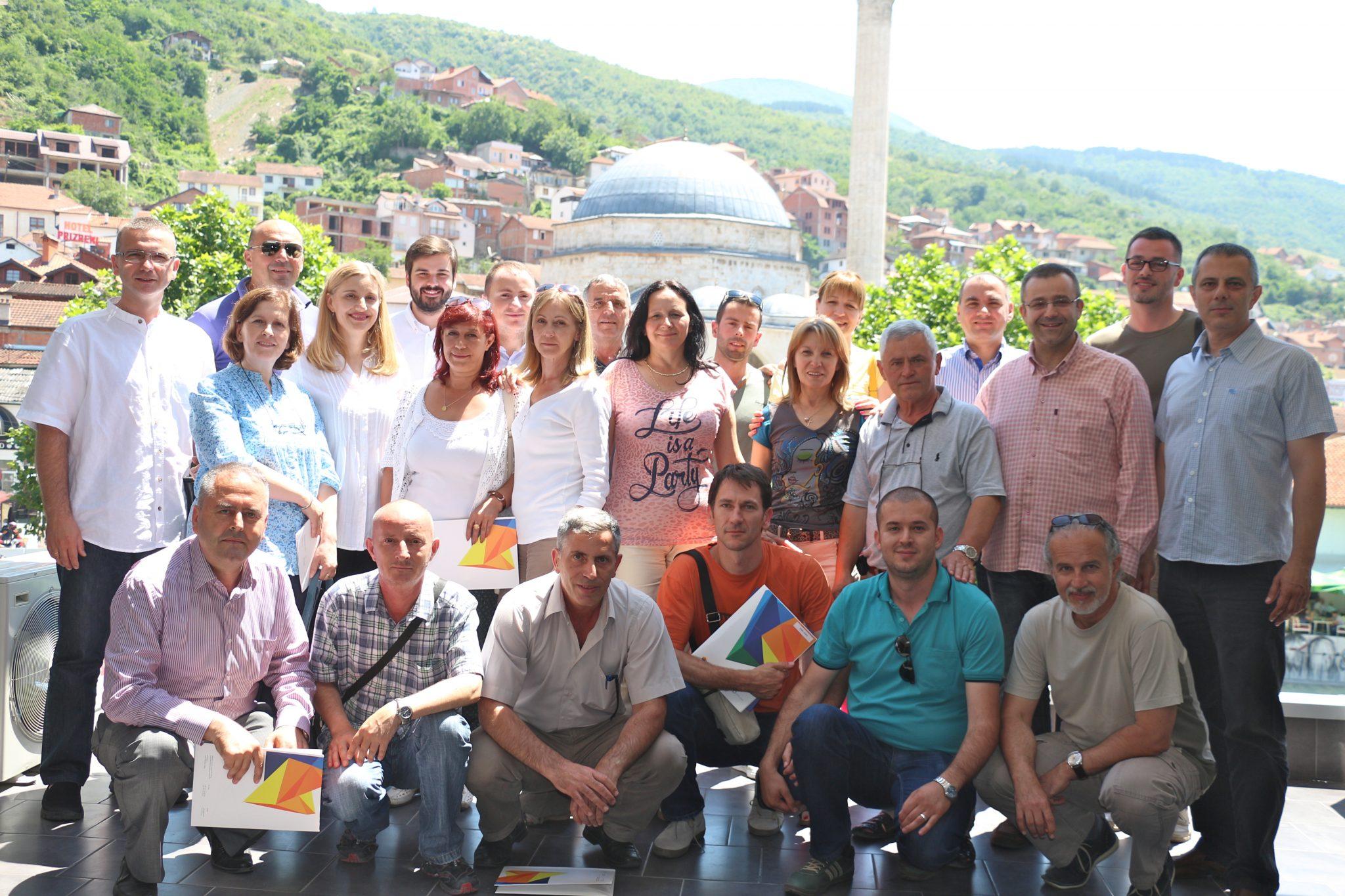 """Projekat """"Lokalno umrežavanje za održivi razvoj"""" uspešno okončan u Prizrenu"""