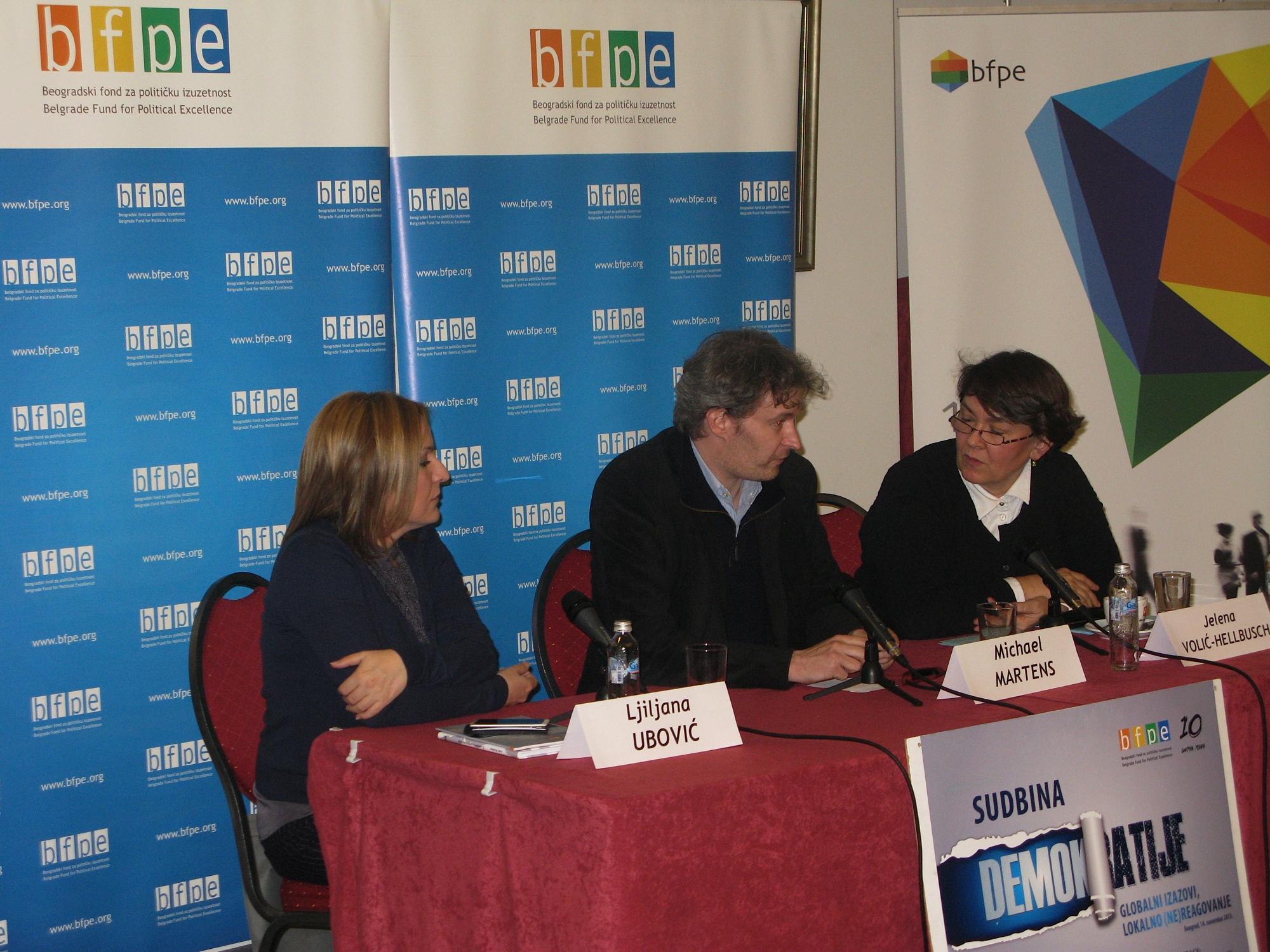 Mihael Martens gost BFPE: Dobro je što Srbija više nije udarna vest u Nemačkoj