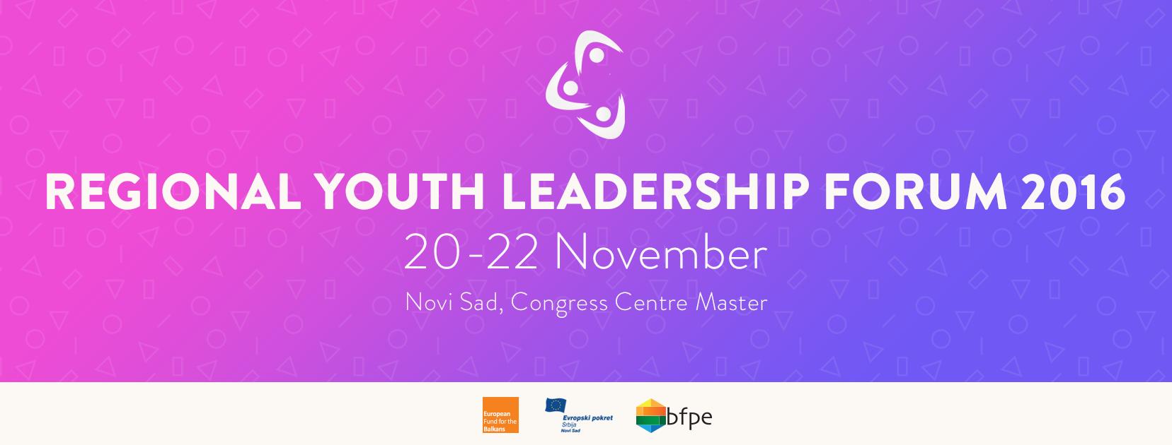Regional Youth Leadership Forum 2016