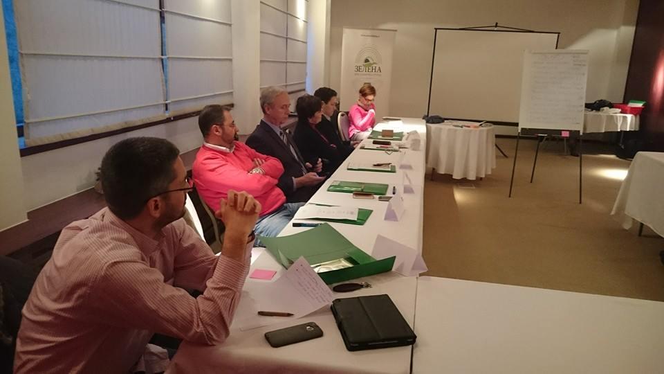 Članice i članovi Zelene poslaničke grupe pohađali prvi seminar