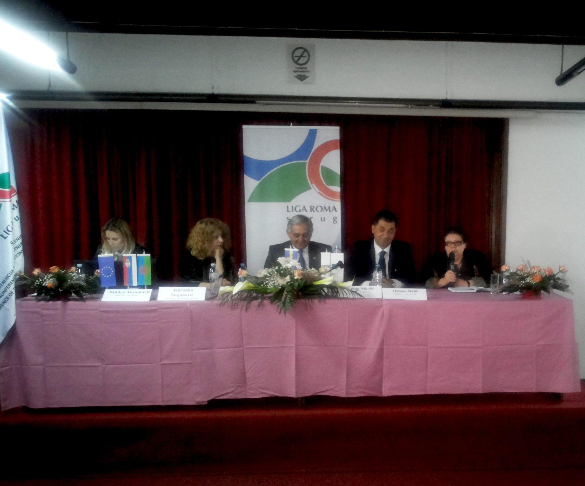 Vreme je da mladi i obrazovani Romi postanu kreatori politika u Srbiji