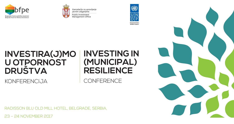 Konferencija: Investira(j)mo u otpornost društva