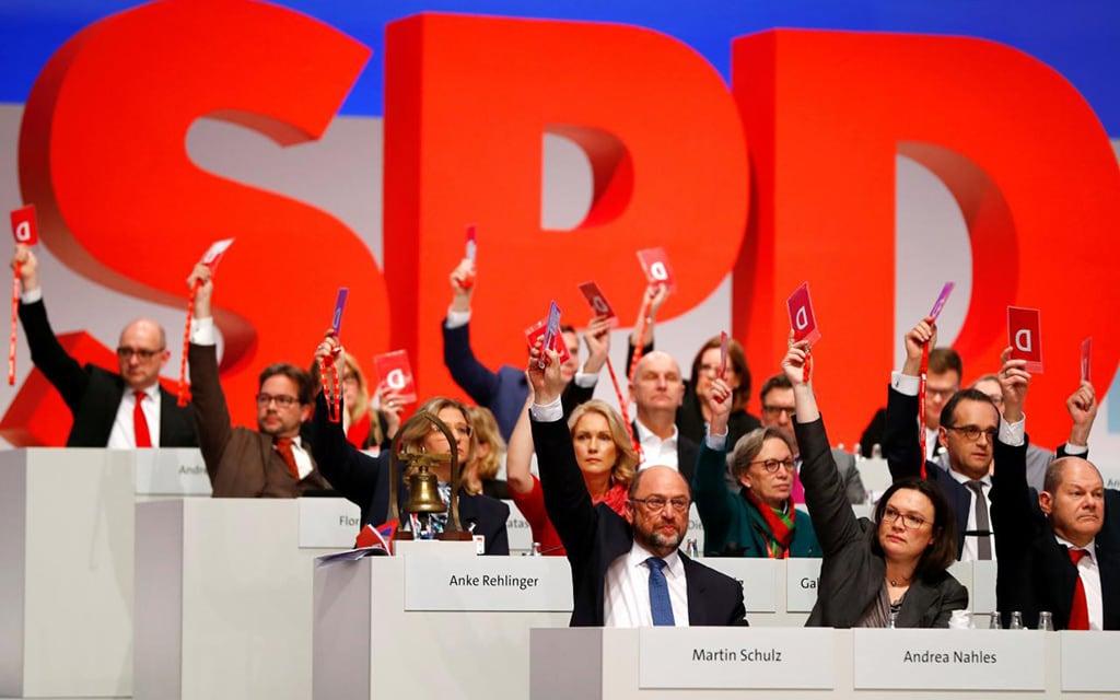 Kriza Socijaldemokratske partije Nemačke