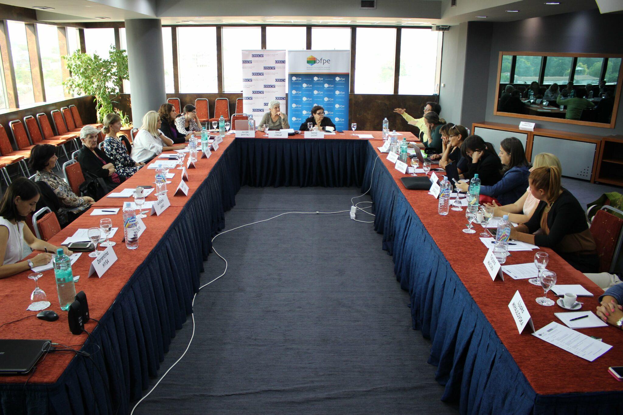 """Skoplje: Godišnje okupljanje inicijative """"Žene Balkana za nove politike"""""""