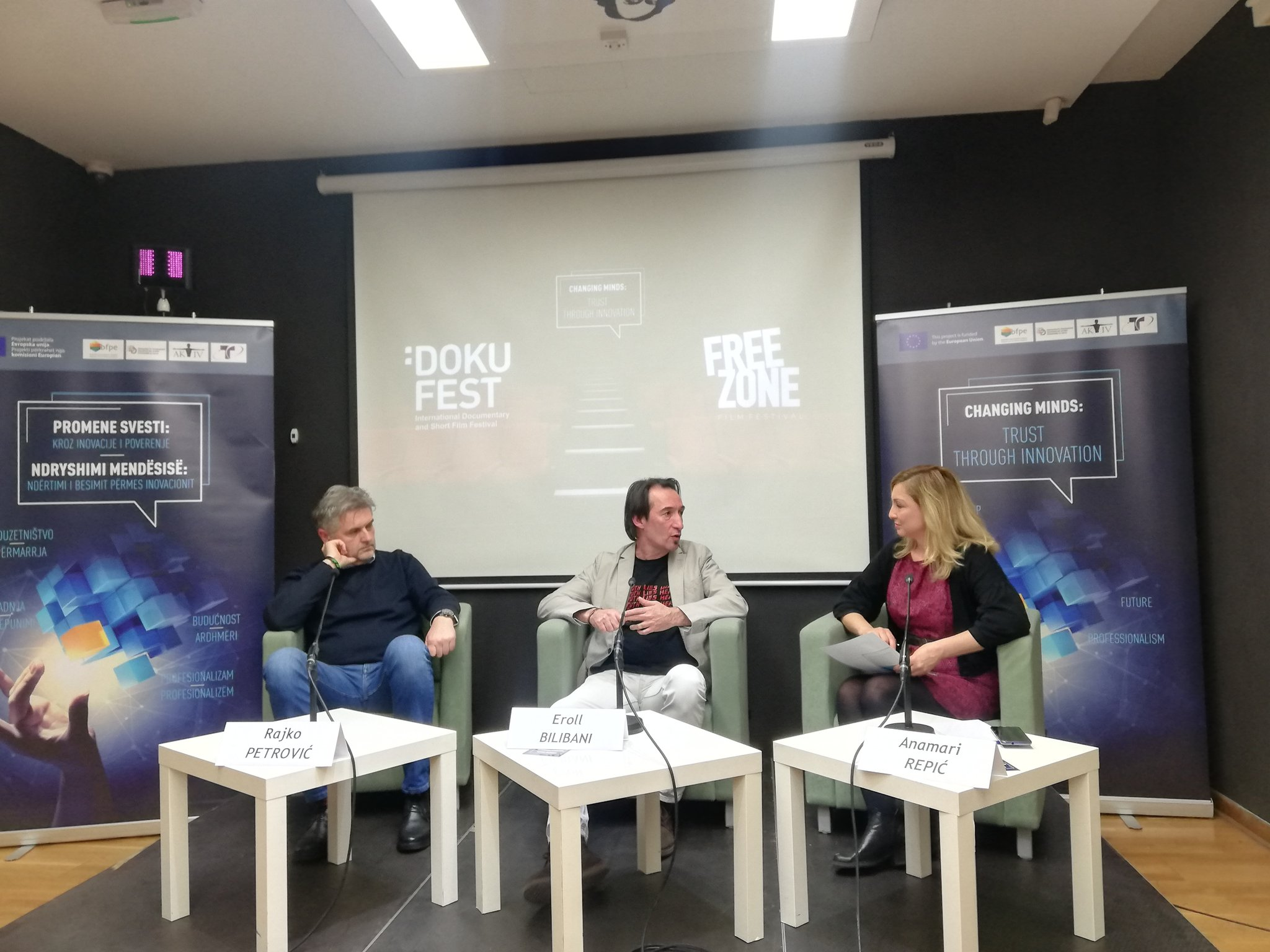 Rajko Petrović i Erol Bilibani: izuzetna saradnja i postignuća filmskih festivala Srbije i Kosova