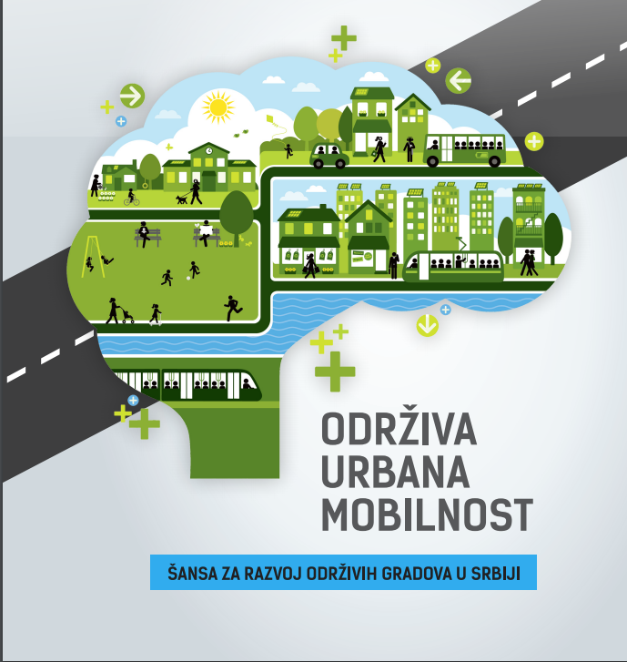 "Brošura ""Održiva urbana mobilnost – šansa za razvoj održivih gradova u Srbiji"""