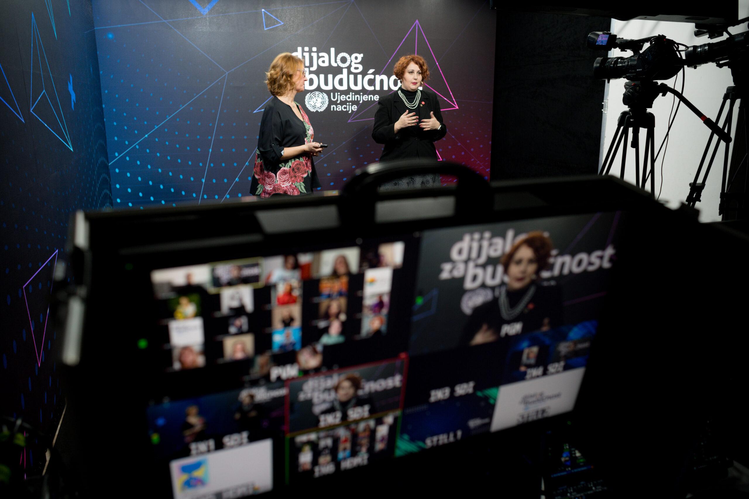 Dijalog za budućnost – deseti onlajn edukativni seminar: mediji i digitalne platforme kao oružje ženske borbe