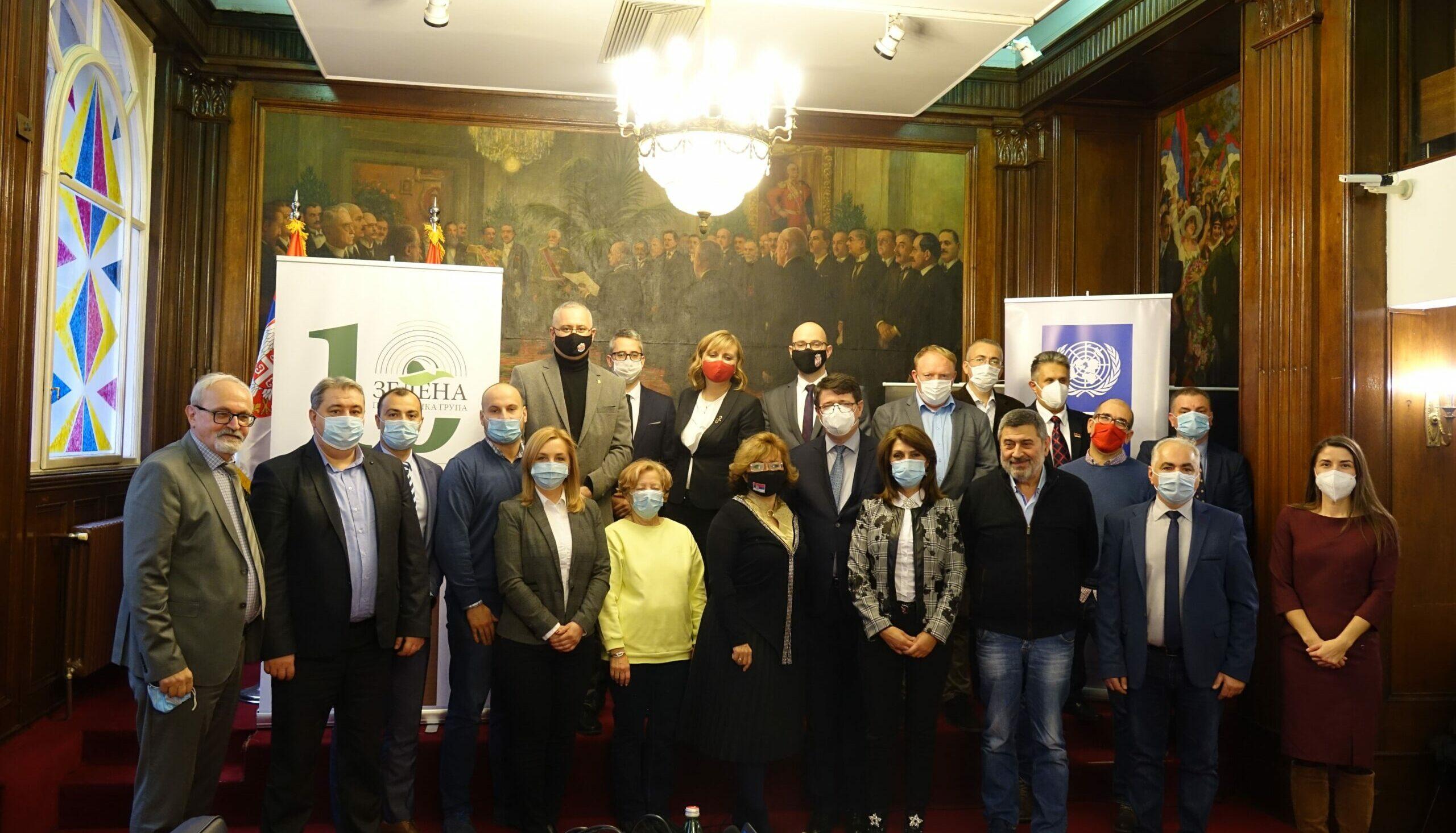 Zelena poslanička grupa uspostavlja regionalnu saradnju