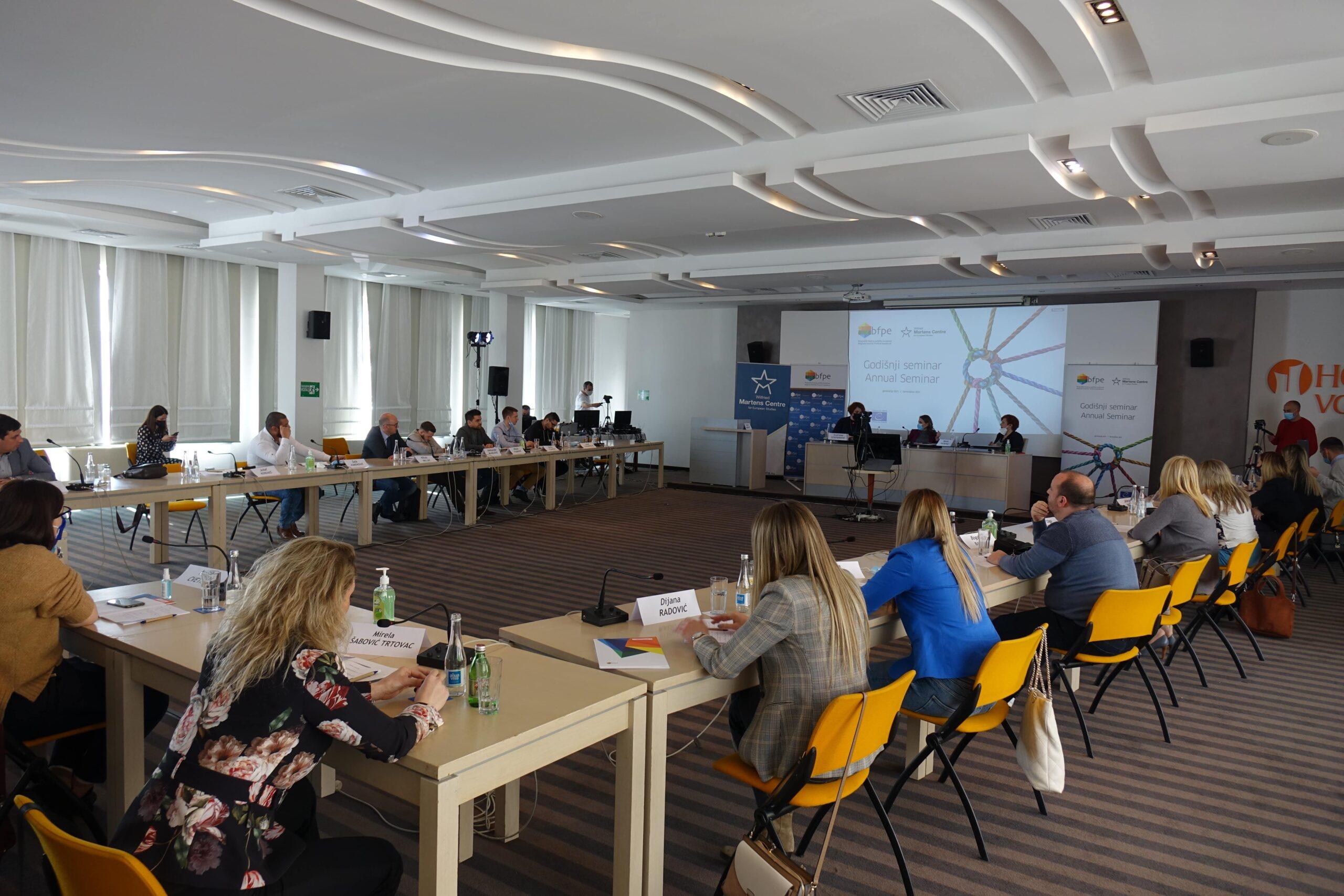 Socijalni i ekonomski izazovi u uslovima krize – prvi događaj Godišnjeg seminara 2021.