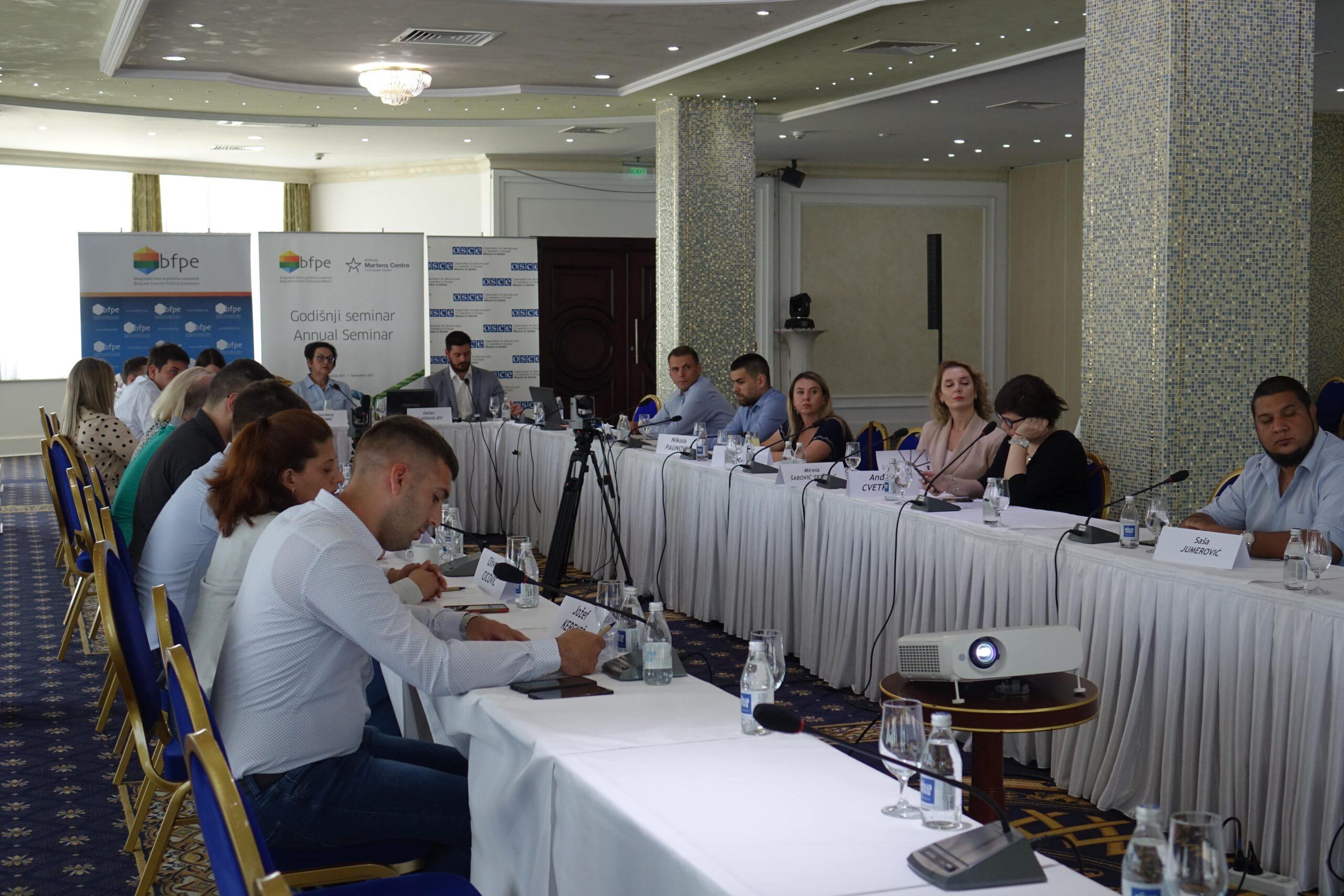 Novo doba političkog upravljanja – drugi događaj Godišnjeg seminara 2021.